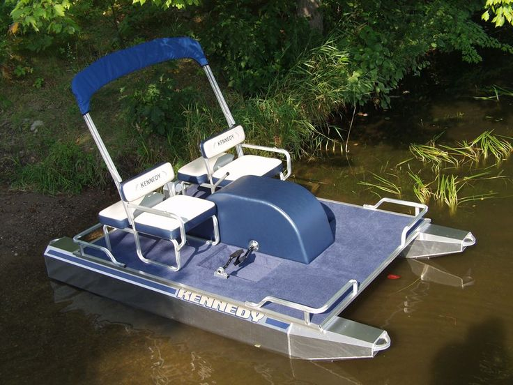 Unlike most traditional pedal boats, the Kennedy Paddle Boat offers stability and comfort in a spacious design. Description from kennedypontoons.com. I searched for this on bing.com/images