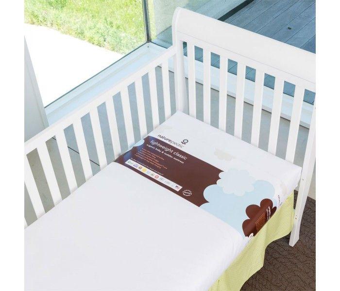 Naturepedic Classic Lightweight Organic Cotton Crib Mattress – Organic Mattress and Sleep Canada