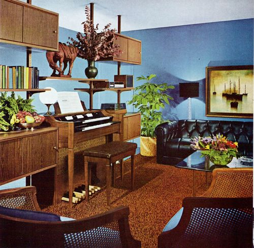 34 best images about interiors 1970s on pinterest for Vintage living room decor