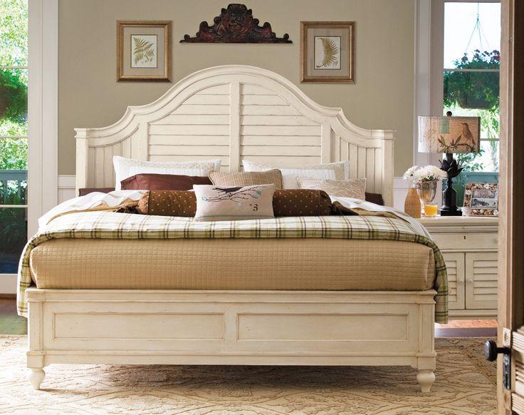 paula deen home paula deen steel magnolia bedroom set in linen