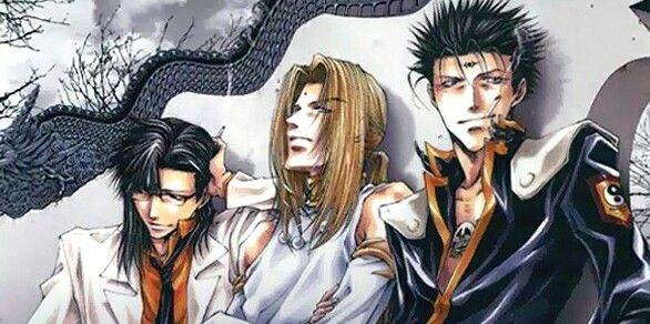 Tempu, Konzen and Ken Ren {Saiyuki Gaiden}