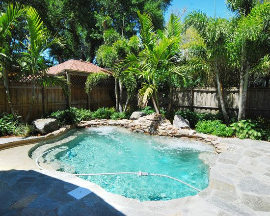 414 best Small Inground Pool & Spa Ideas images on ...