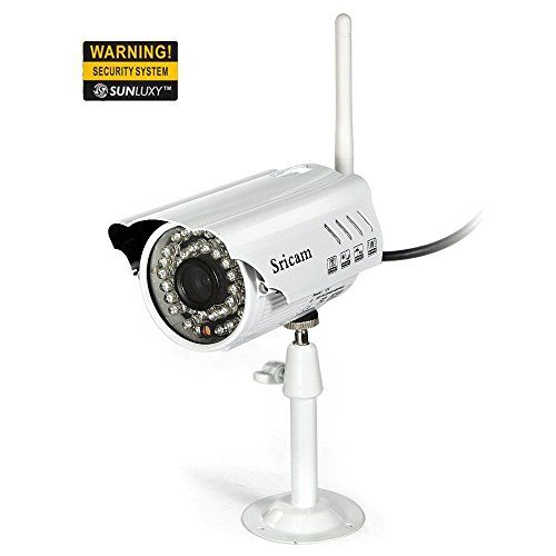 SUNLUXY 720P HD P2P Pan Tilt CCTV Wireless Wifi IP Kamera Bewegungserkennung Netzwerkkamera Outdoor Wasserfest Überwachungskamera IR Cut Nachtsicht