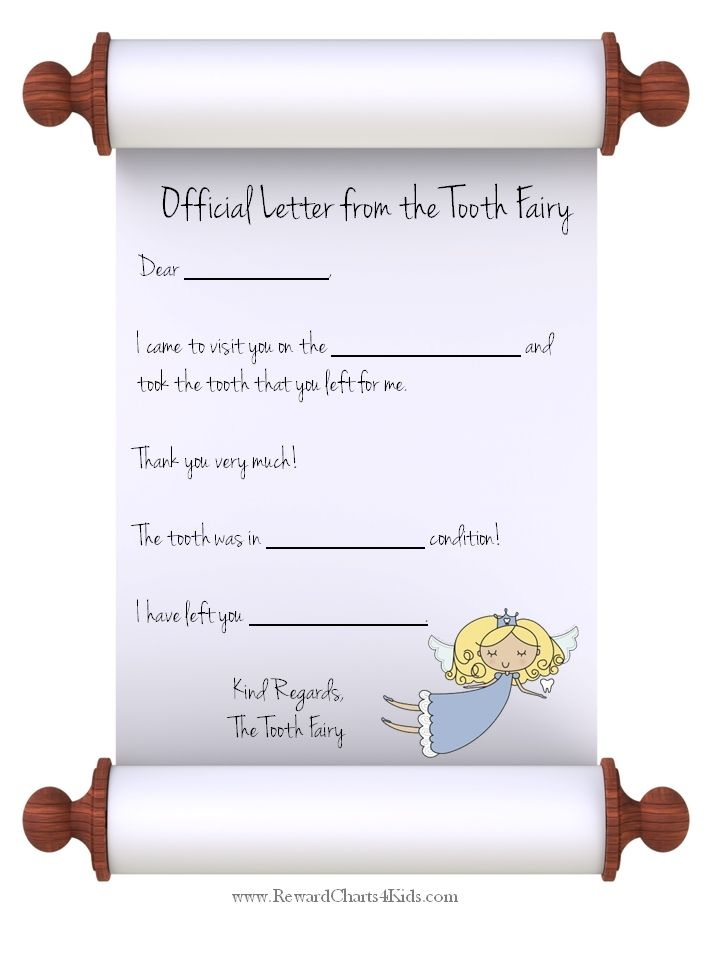 tooth fairy letters 123 best images about tooth printables amp crafts on 13873