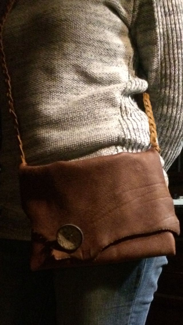 Leather sling made by Maraai