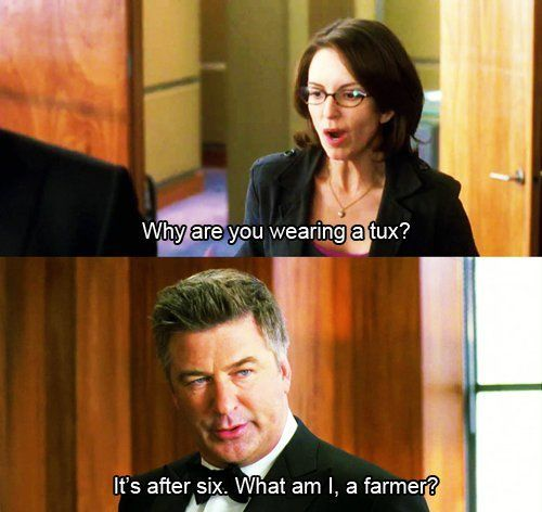 Tina Fey and Alec Baldwin are my favorite! They have great chemistry. I love 30 Rock so much.