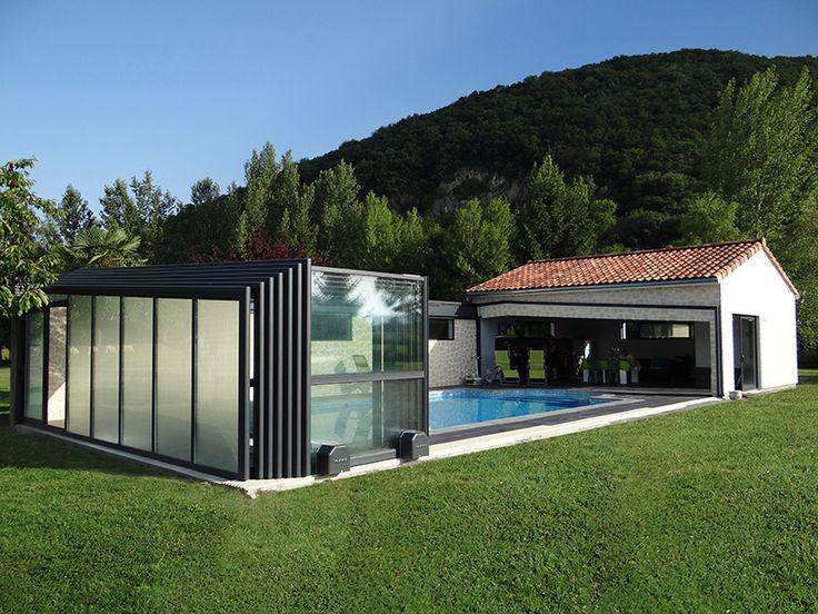 17 meilleures id es propos de b che de piscine sur for Abri de piscine veranda