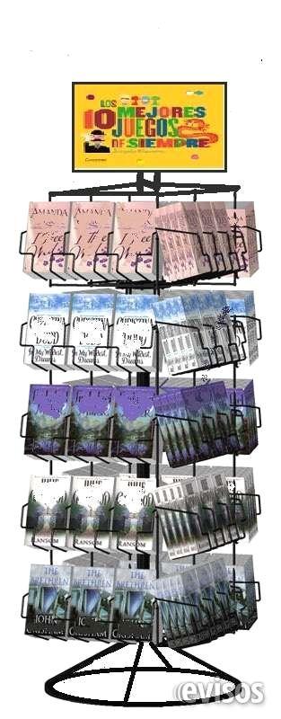 INTERESANTES EXHIBIDORES METALICOS  FABRICACION DE EXHIBIDORESLe Rack es una  empresa que se dedica a la fabricación  de gran ...  http://cuauhtemoc-city-2.evisos.com.mx/interesantes-exhibidores-metalicos-id-615070
