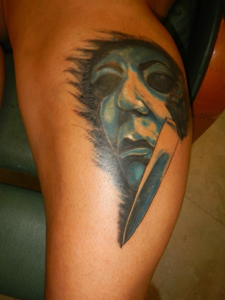 17 best images about horror tattoos on pinterest ink for Michael myers tattoo