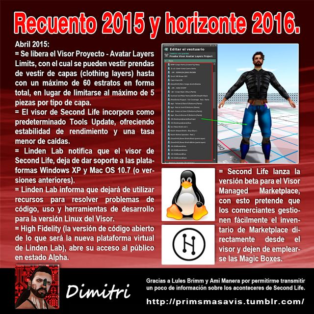AMM Life & Style: AMM NUM 39 - RECUENTO 2015 Y HORIZONTE 2016 SECOND LIFE 03