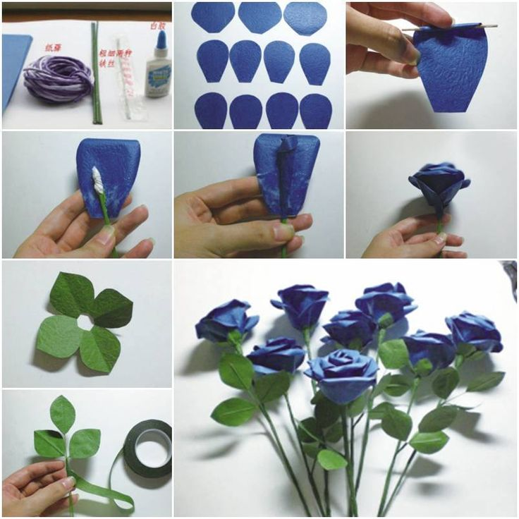 How to make Glamour Rose step by step DIY tutorial instructions, How to, how to do, diy instructions, crafts, do it yourself, diy website, art project ideas