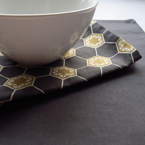 Commune HEX Table Linen by LOOM
