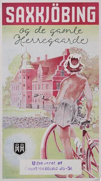 På Lolland ligger bl.a. Saxkøbing med rig mulighed for at besøge flere af de gamle herregårde.