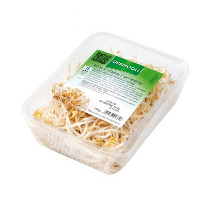 #germogli #sprouts germogli di soia - soy sprouts INGREDIENTS: Mung bean sprouts (Vigna radiata L.), known as soya bean sprouts.