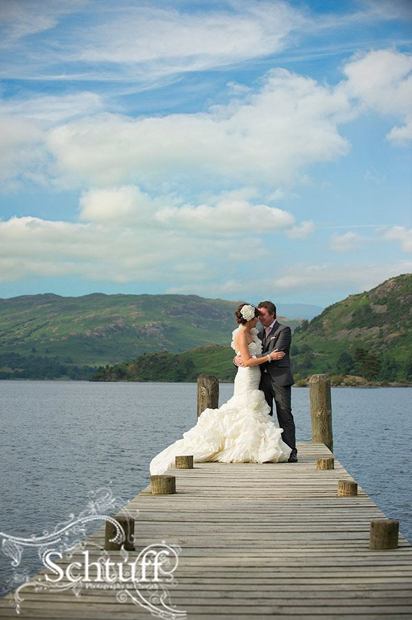 Out On The Jetty At Inn On The Lake Ullswater Cumbria Steve Www Schtuff Com Info Destination Wedding Photographer Wedding Photography Wedding Photographers