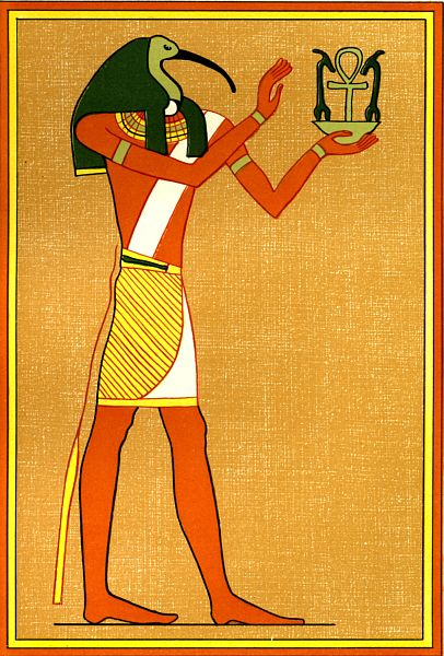 Thoth is the Egyptian god of magic, writing, and wisdom ...