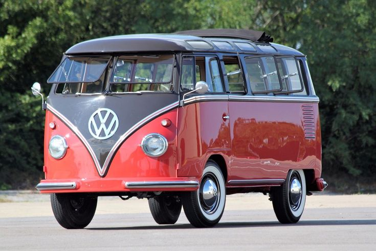 awesome Awesome 1956 Volkswagen Bus/Vanagon  1956 23 Window Deluxe bus, Wolfsburg built, nut and bolt restoration VW Samba 2018