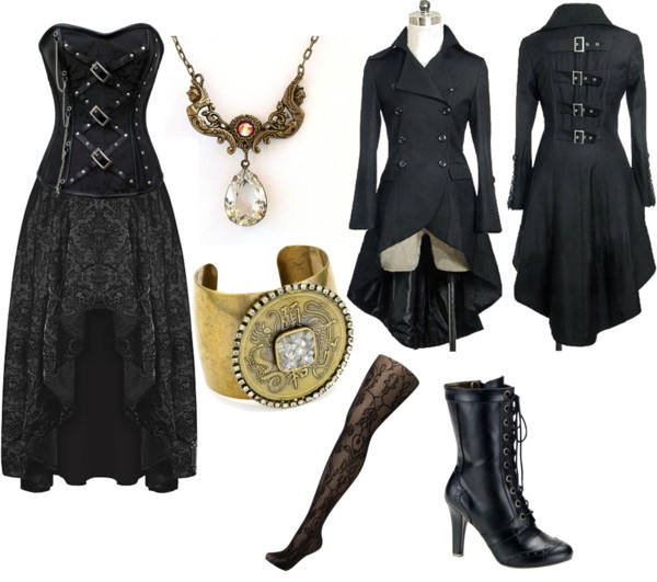 """""""Gothic Steampunk"""" by ellie-883 on Polyvore: Costume"""
