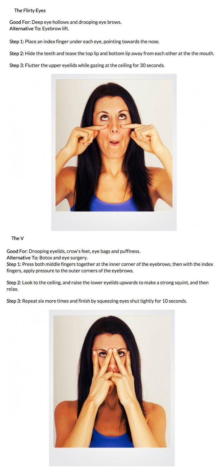 Facial Yoga for the Eyes