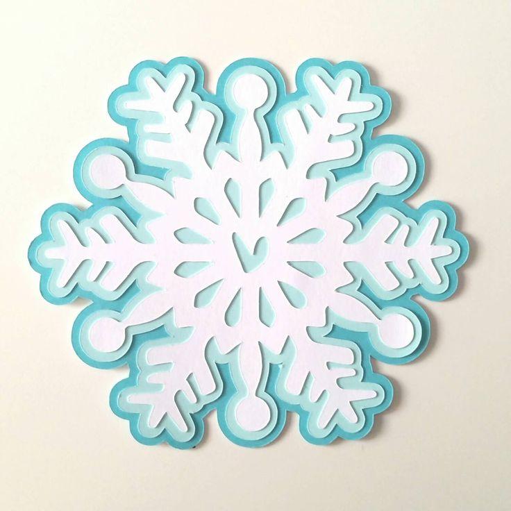 Copo de nieve invitación fiesta paquete de 10 por bellybeancards