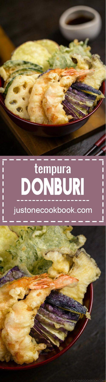 Ten Don - Tenpura Donburi (天丼) | Easy Japanese Recipes at JustOneCookbook.com