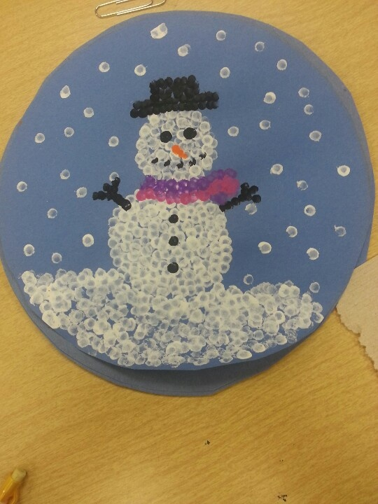 Snowmen craft! Super cute