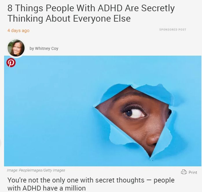 how to explain adhd to others