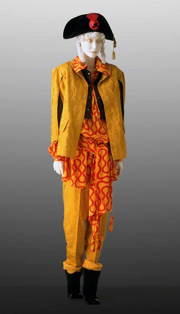 vivienne westwood mustard suit