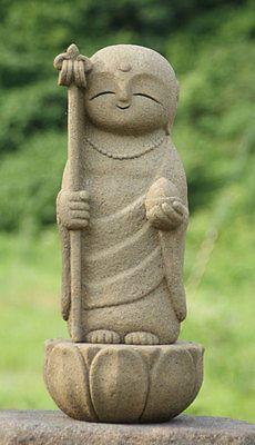 Japan Collection Healing Ksitigarbha / made of Granite / JIZO 地蔵 / H 35 cm