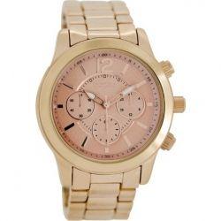 OOZOO Timepieces Rose Gold Metal Bracelet C6894
