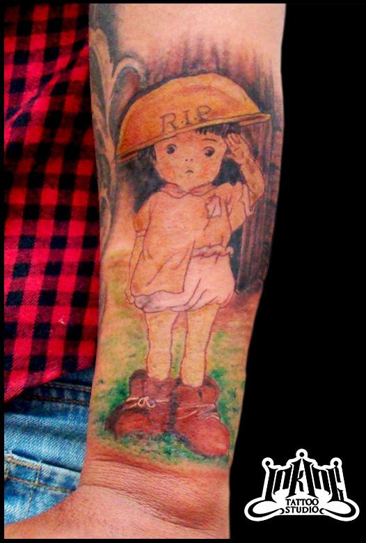 Tattoos That Prove You Love Anime Spirited Away Guff