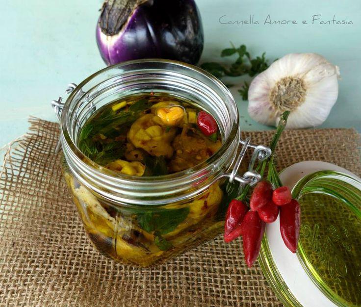 Le melanzane grigliate sott'olio alla siciliana sono una ricetta di famiglia a cui sono particolarmente legata,perfette come antipasto o come stuzzichino