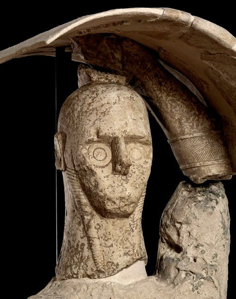 Pugilatore - Giganti di Mont'e Prama #Sardegna antica #Archeologia
