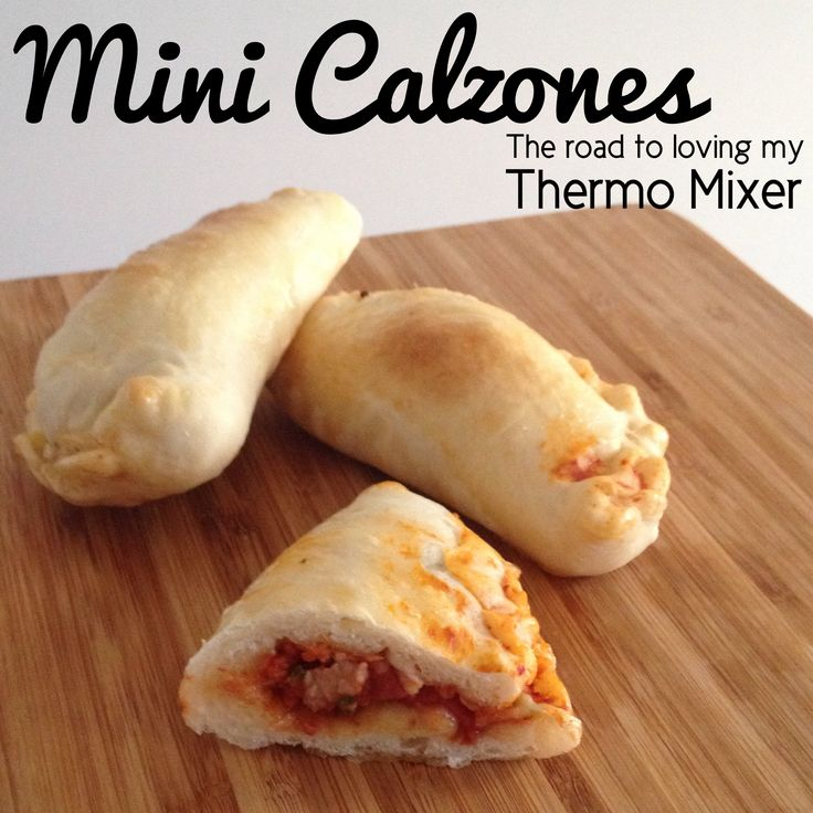 Mini Calzones | The Road to Loving My Thermo Mixer