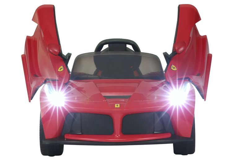 Magic Cars Ferrari Ride On 12 Volt Kid S Rc Ride On Remote Control Car W Ferrari Floor Mat Bumper To Bumper Warranty Remote Control Cars Magic Car Radio Controlled Boats