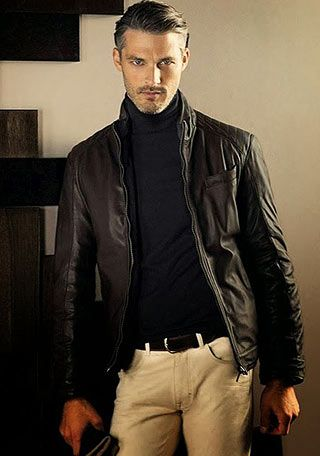 レザージャケットの着こなし・コーディネート一覧【メンズ】 | Italy Web