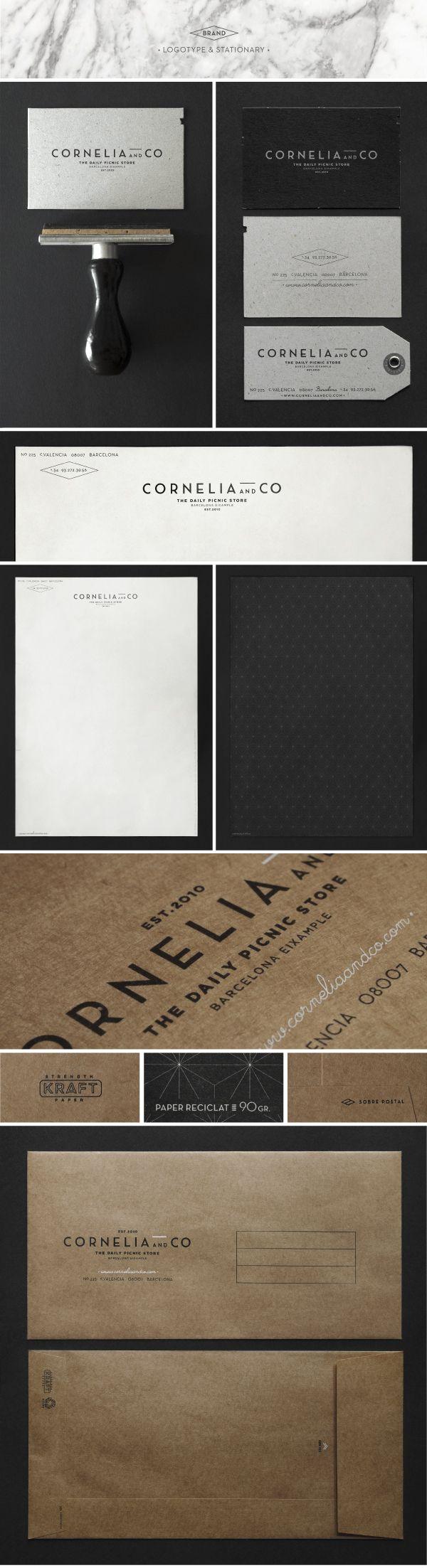CORNELIA and CO [ Brand identity   #stationary #corporate #design #corporatedesign #identity #branding #marketing repinned by www.BlickeDeeler.de   Visit our website: www.blickedeeler.de/leistungen/corporate-design