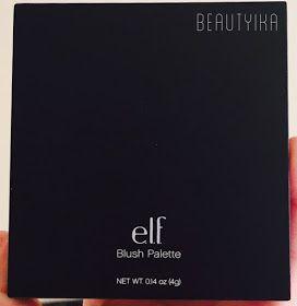 Paleta de Rubores (Blush Palette) de elf Cosmetics. Reseña de Beautyika - blog de belleza mexicano.