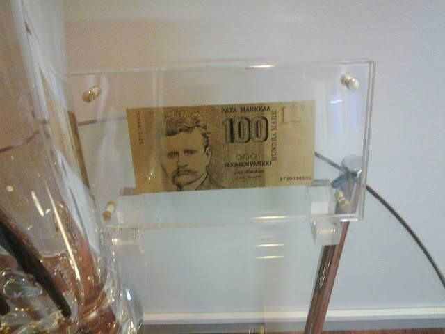 Golden money.
