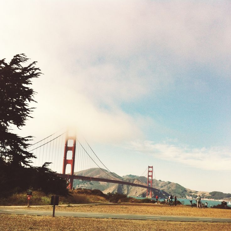 Golden Gate Bridge, SF, Cali