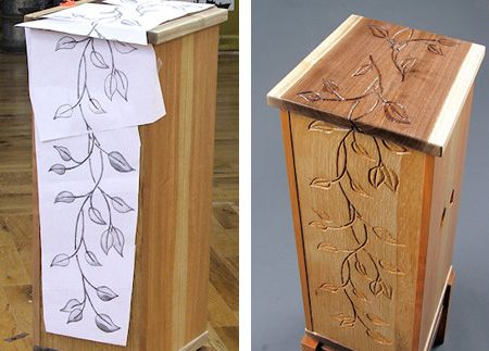 Going to try this on the next thing I make even if it s a birdhouse. Best 25  Unique wood furniture ideas on Pinterest   Wood tables