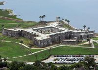 St. Augustine. The oldest city in the United States and home of Castillo de San Marcos, a Spanish fort built in the 1600's. A city full of history and fun to walk around downtown.
