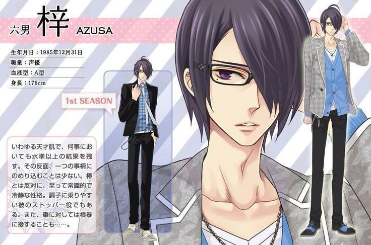 Azusa Brothers Conflict   brothers conflict season 2 - Google Search   Otaku ☆   Pinterest ...