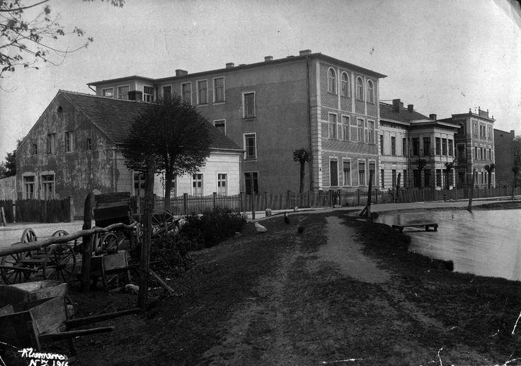 Szpital. Zdjęcie z roku 1916. Fot. Augustyn Ziemens