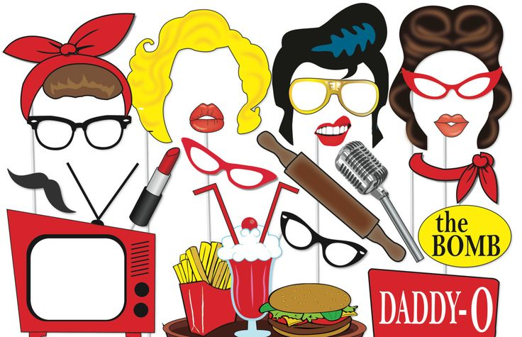 elvis party printables - Elvis Themed Party and What You Should Get to Make One – Home Party Theme Ideas