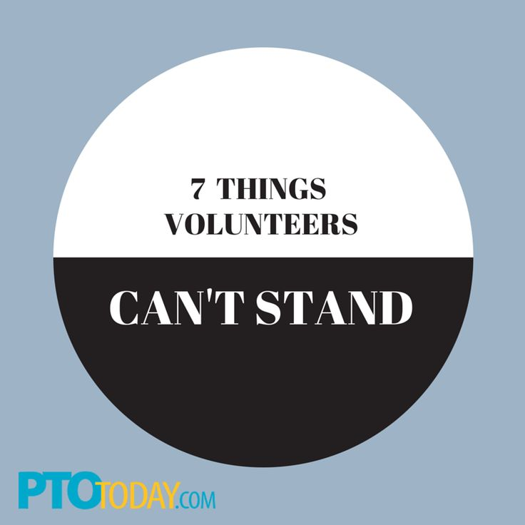 Get more volunteers on board by avoiding the things that put people off. #pto #pta