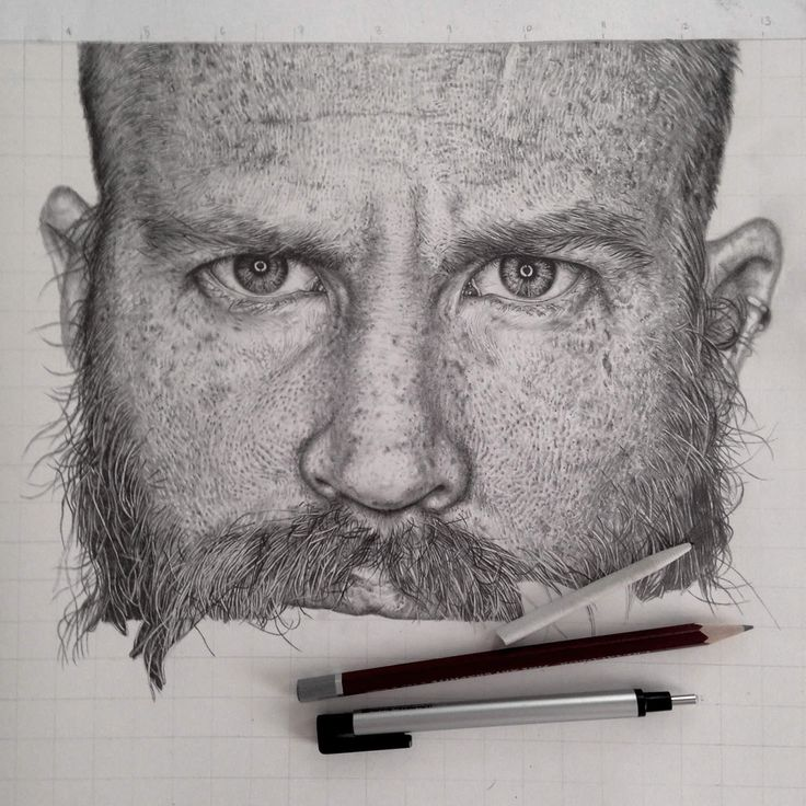 Stunning Photo Realistic Graphite Drawings by Monica Lee (doesn't this look like Marshall?)