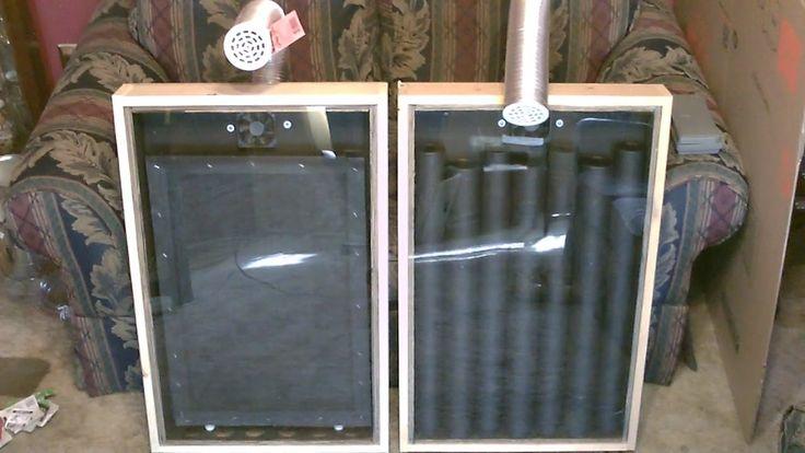 Diy Solar Heater Using Black Window Screen Mesh