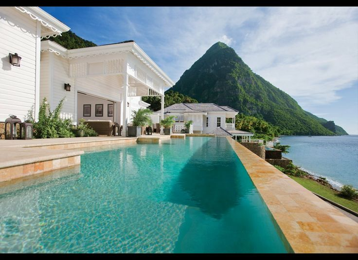 Avoid These Epically 'Right' Places During The 'Wrong' Seasons St. Lucia See More Warm-Weather Destinations  At Ladera (rooms, from $525; Rabot Estate, Soufrière; 866-290-0978; ladera.com), a resort nestled in the southwest hills of St. Lucia, the suites have three walls, with the fourth missing in favor of a tropical view. As my wife and I arrived after nightfall, come sunrise we looked around—and gaped. The Caribbean was framed by an unparalleled panorama of the