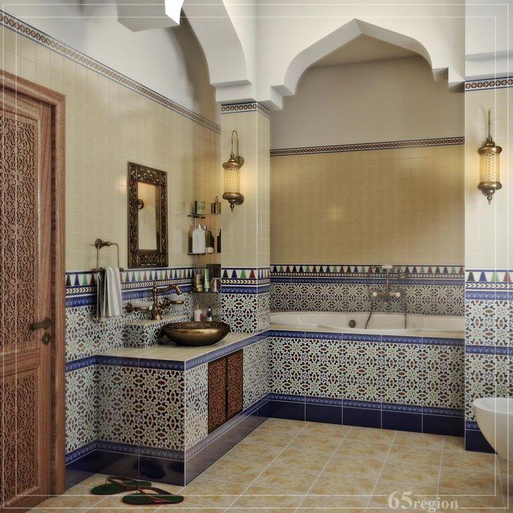 Ванная комната в марокканском стиле - Галерея 3ddd.ru